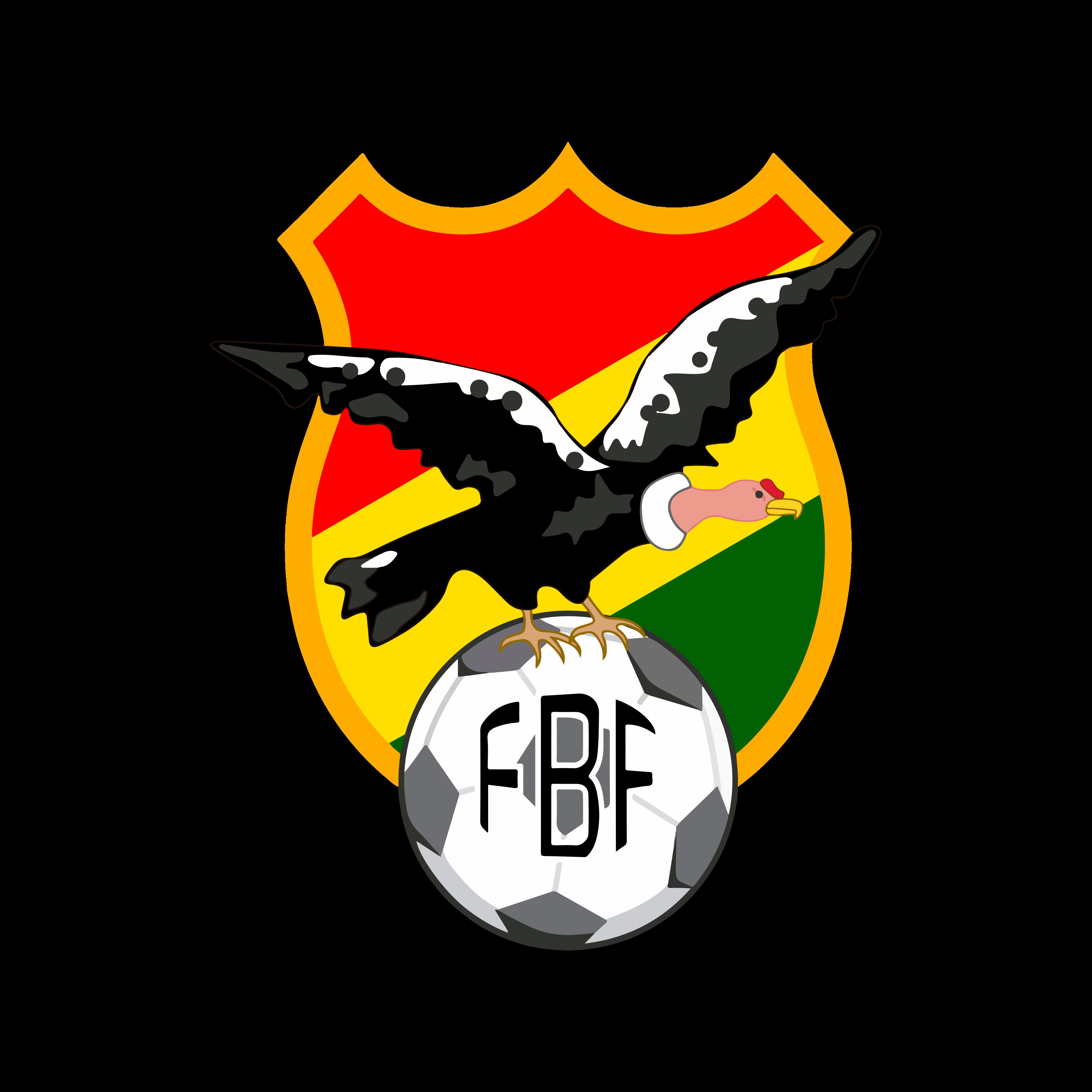 fbf selección de futbol de bolivia logo 0 - FBF Logo - Bolivia National Football Team Logo