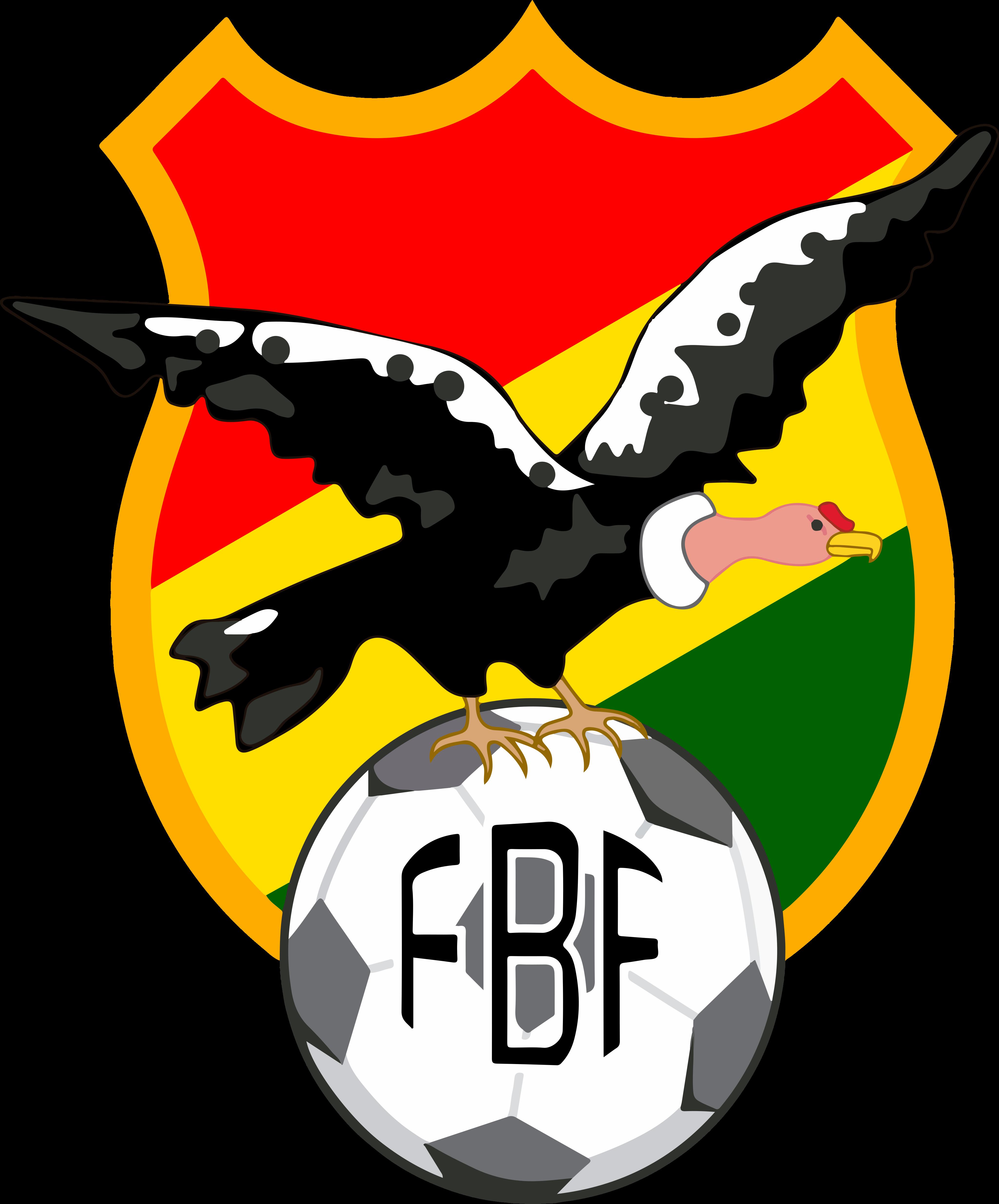 fbf selección de futbol de bolivia logo - FBF Logo - Bolivia National Football Team Logo