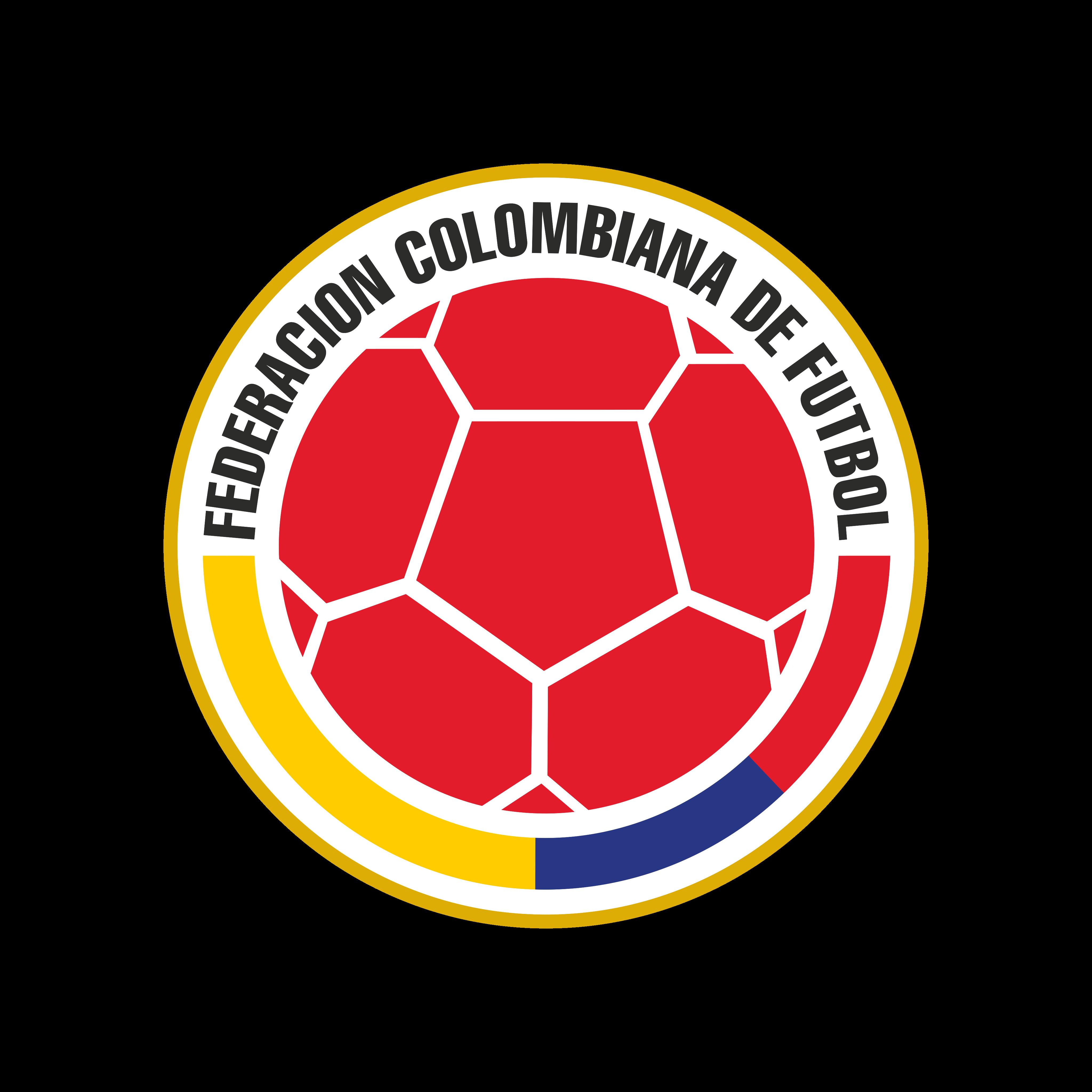 fcf seleccion de fútbol de colombia logo 0 - FCF Logo - Colombia National Football Team Logo