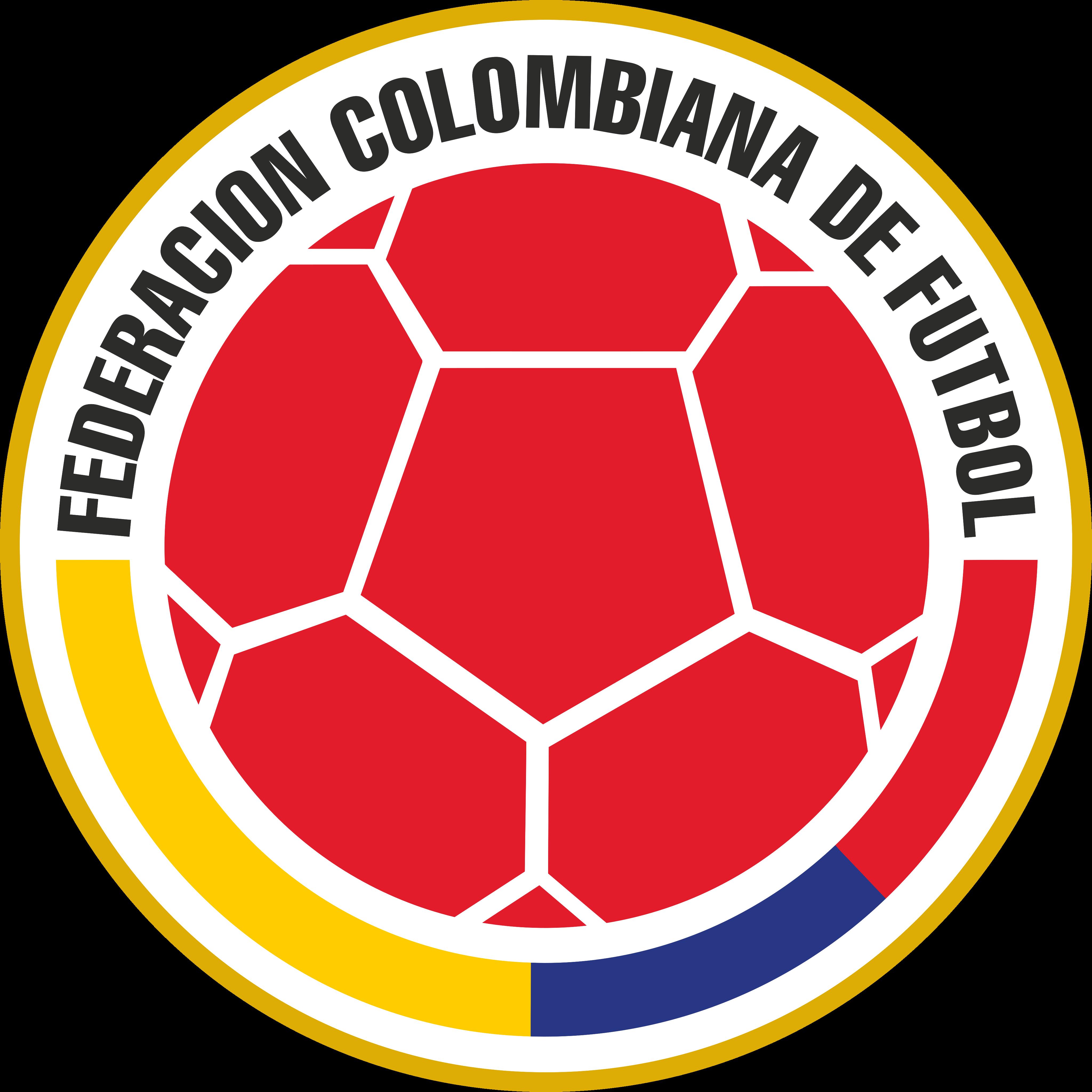 fcf seleccion de fútbol de colombia logo - FCF Logo - Colombia National Football Team Logo
