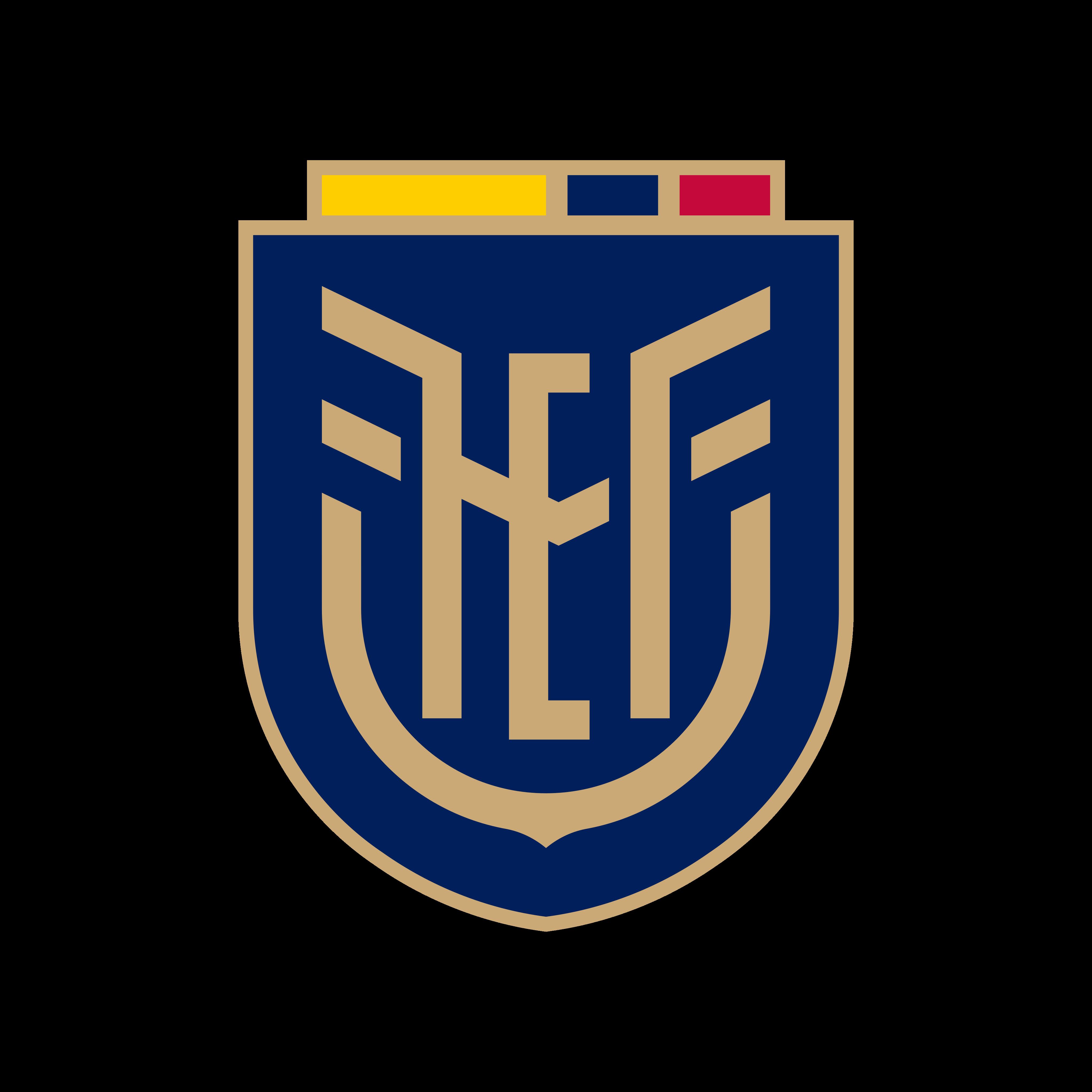 fef seleccion ecuador logo 0 - FEF Logo - Seleção do Equador de Futebol Logo