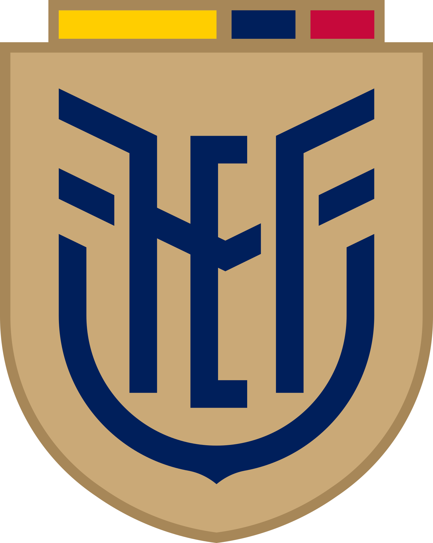 fef seleccion ecuador logo 2 - FEF Logo - Seleção do Equador de Futebol Logo