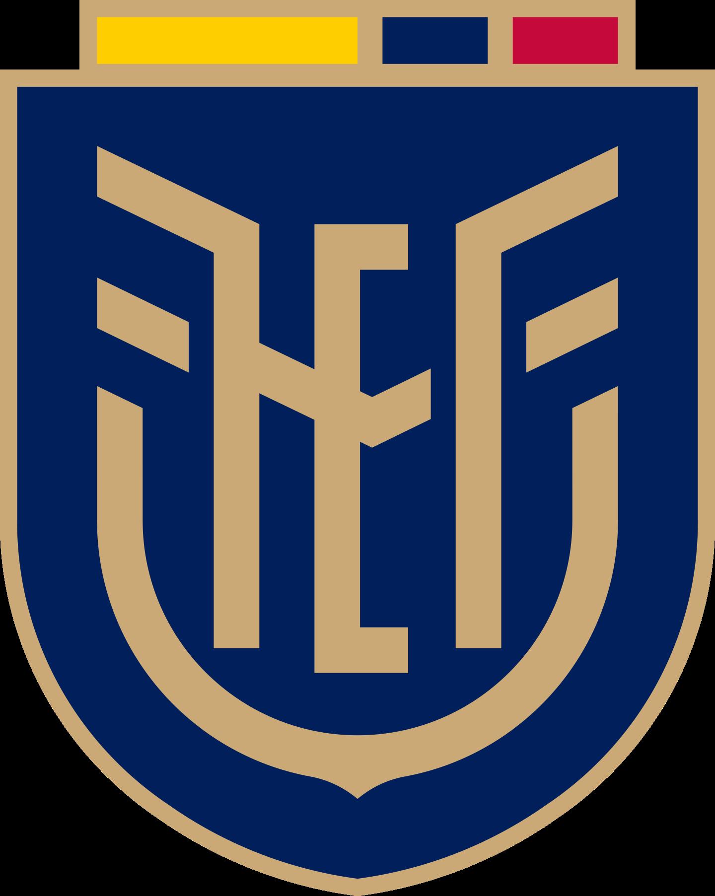 fef seleccion ecuador logo 3 - FEF Logo - Seleção do Equador de Futebol Logo