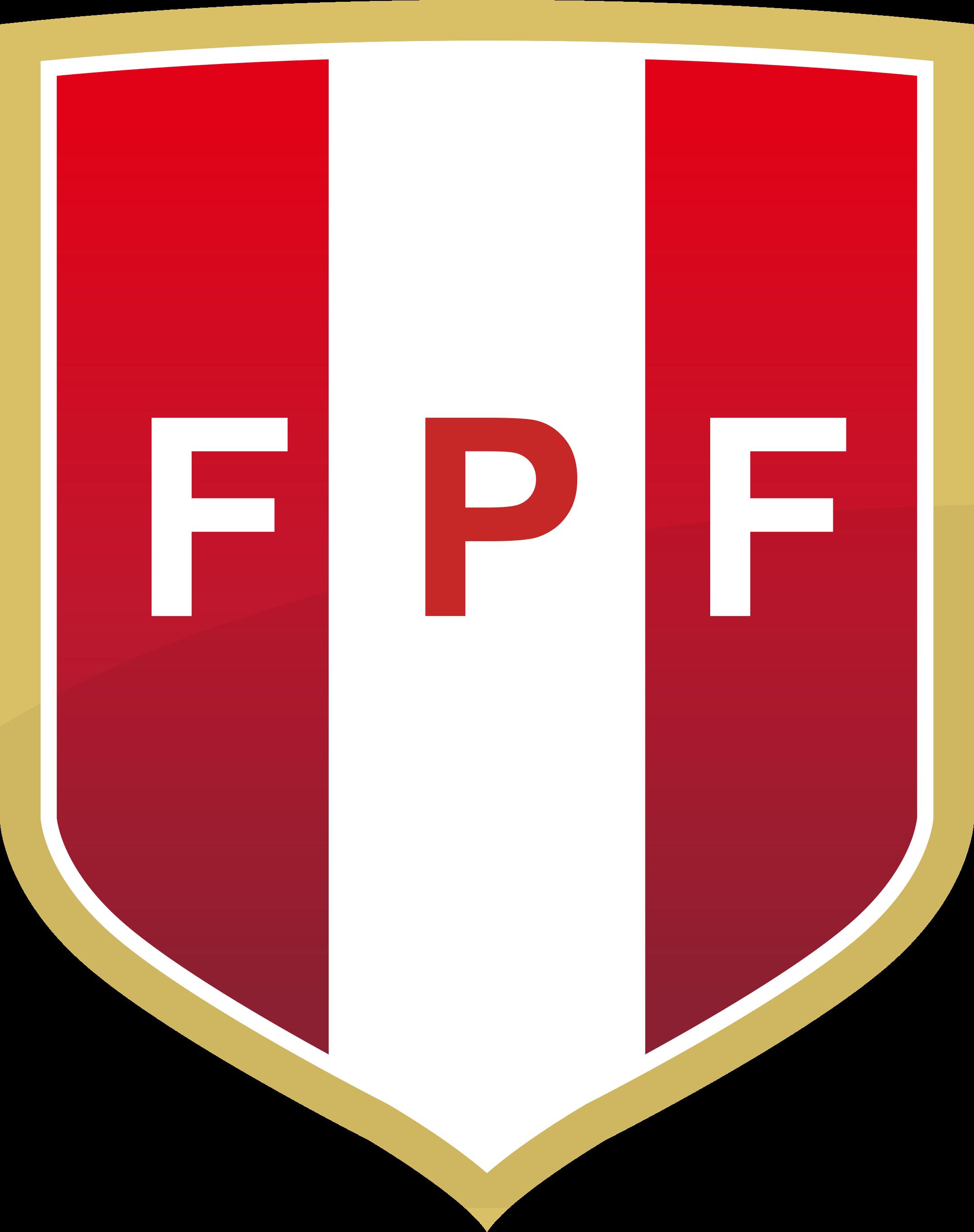 fpf selección de futbol del peru logo 1 - FPF Logo - Seleção do Peru Logo