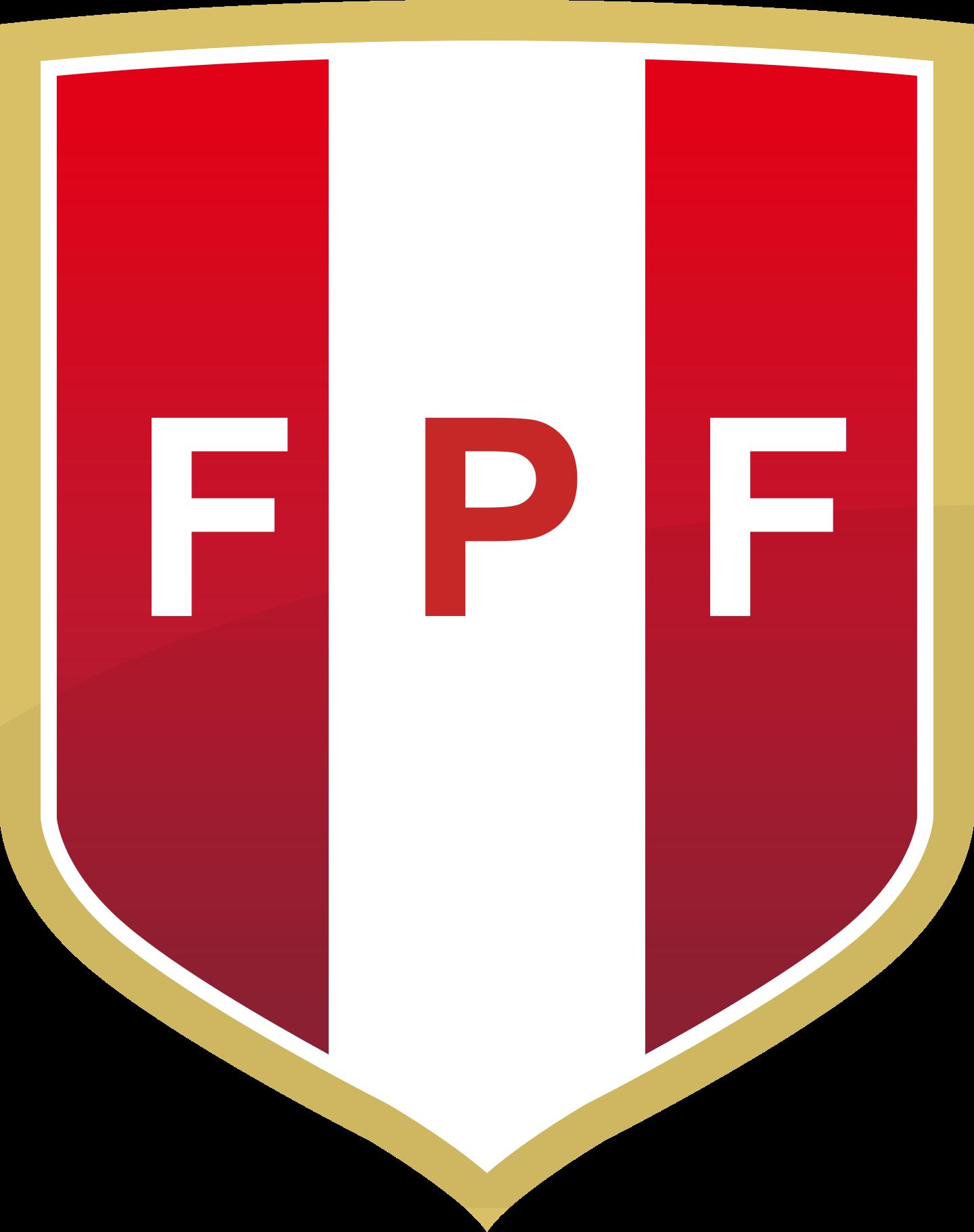 fpf selección de futbol del peru logo 2 - FPF Logo - Seleção do Peru Logo