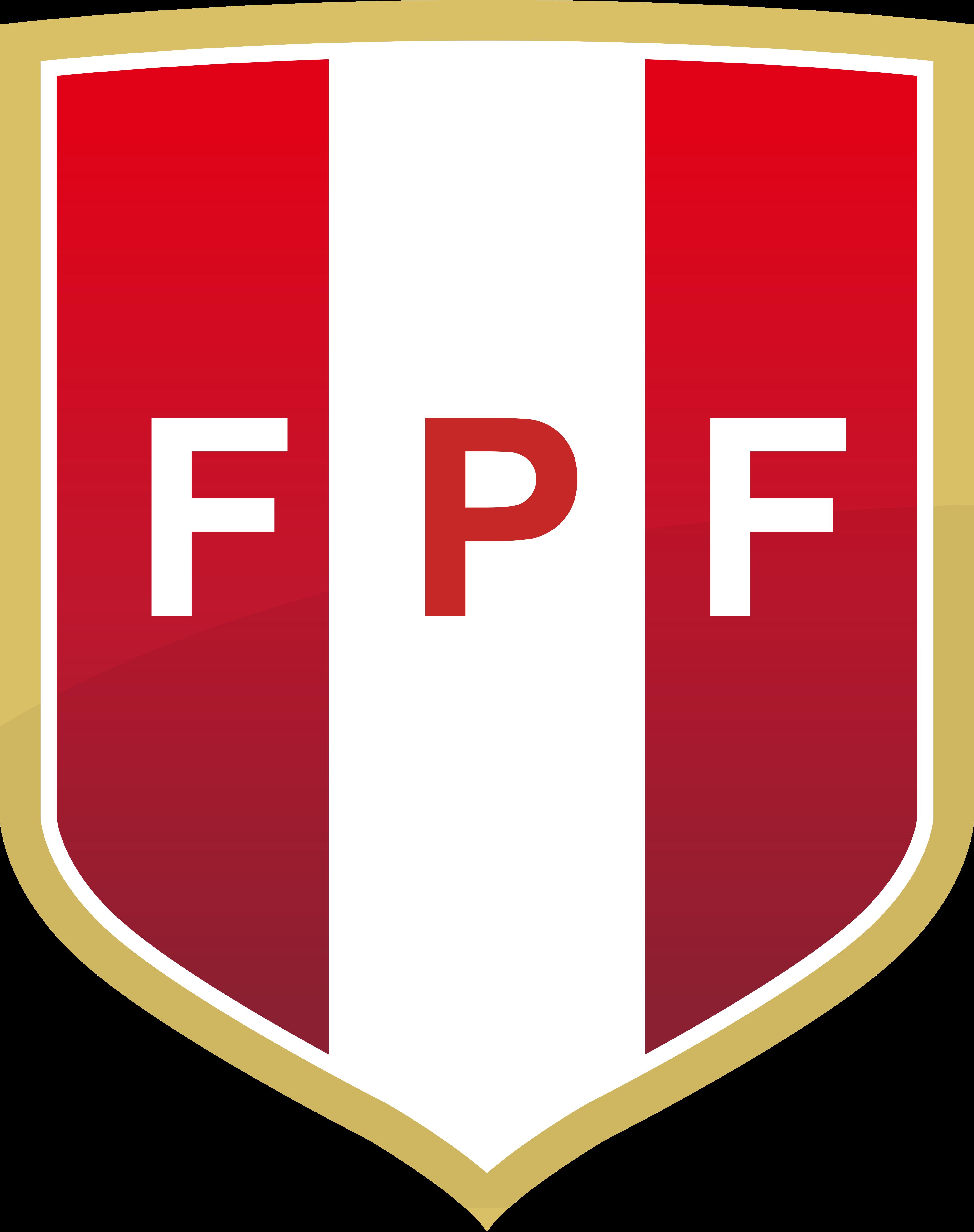 fpf selección de futbol del peru logo - FPF Logo - Seleção do Peru Logo