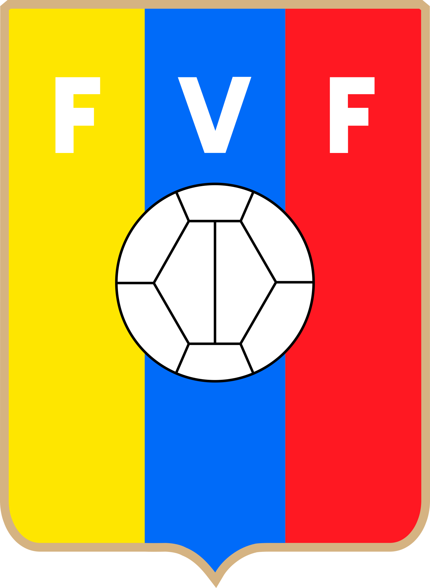 fvf seleccion de futbol de venezuela logo 3 - FVF Logo - Selección de fútbol de Venezuela Logo