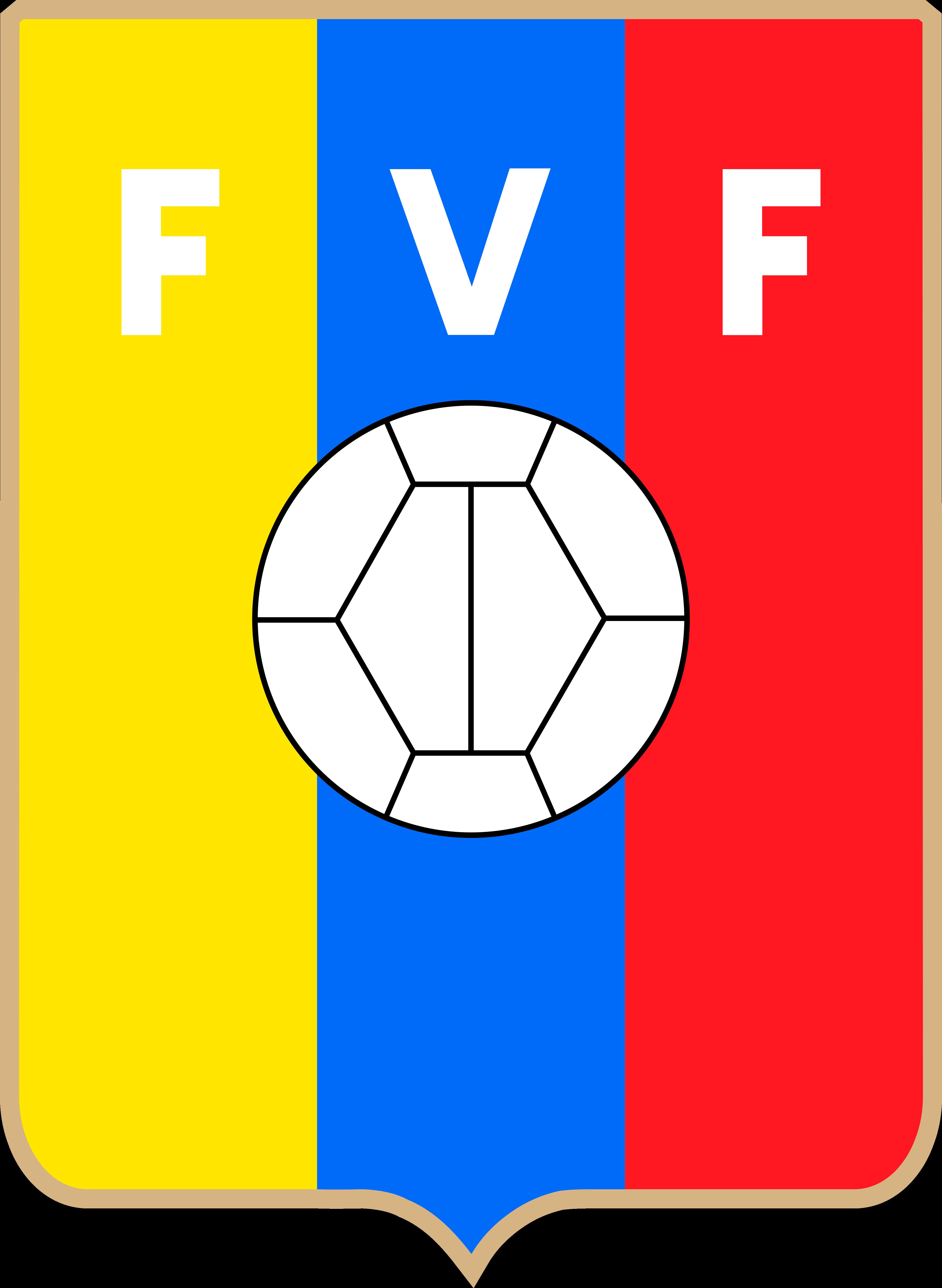 fvf seleccion de futbol de venezuela logo - FVF Logo - Selección de fútbol de Venezuela Logo