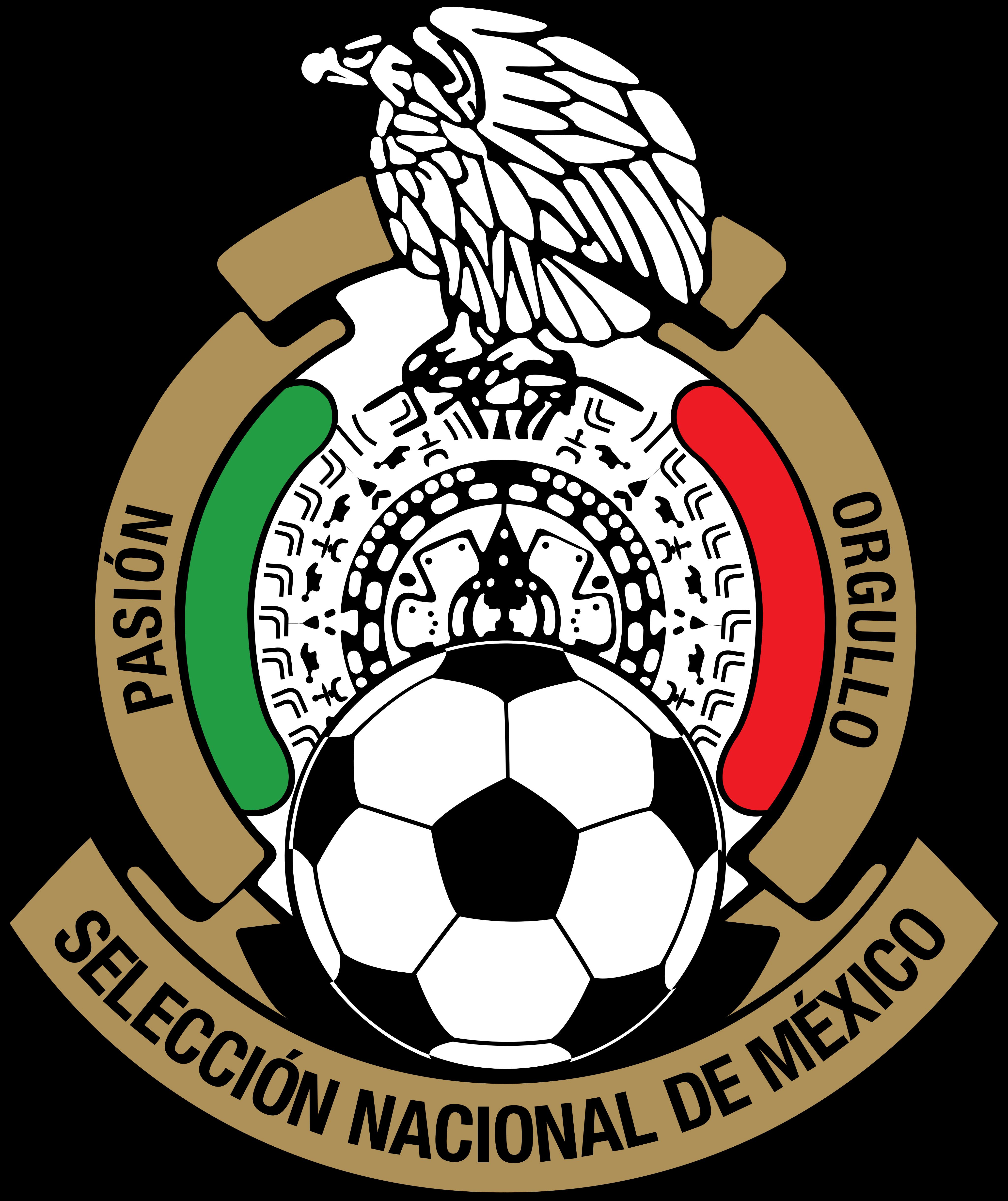 Selección de fútbol de México Logo.